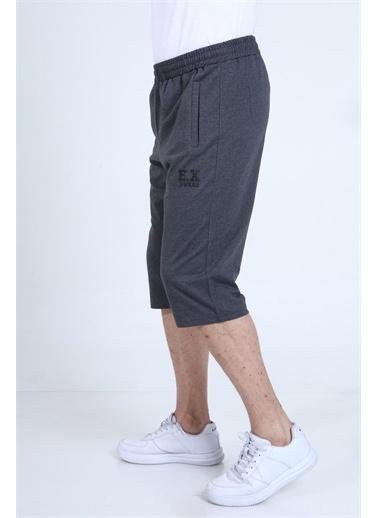Rodi Jeans Erkek Büyük Beden EX Baskı Penye Kapri(190) TY21YE131253 Gri